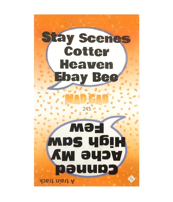 mad gab cards